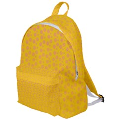 Background Polka Yellow The Plain Backpack by HermanTelo