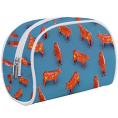 Illustrations Cow Agriculture Livestock Makeup Case (large) by HermanTelo