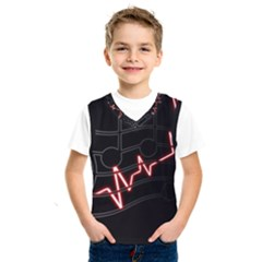 Music Wallpaper Heartbeat Melody Kids  Sportswear
