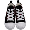 Music Wallpaper Heartbeat Melody Kids  Mid-Top Canvas Sneakers View1