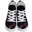 Music Wallpaper Heartbeat Melody Kids  Hi-Top Skate Sneakers View1