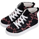 Music Wallpaper Heartbeat Melody Kids  Hi-Top Skate Sneakers View2