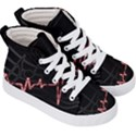 Music Wallpaper Heartbeat Melody Kids  Hi-Top Skate Sneakers View3