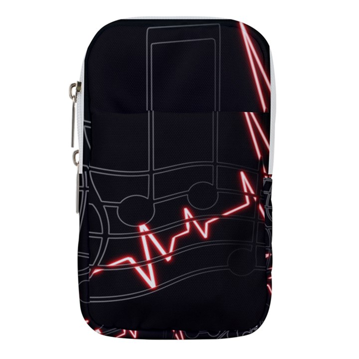 Music Wallpaper Heartbeat Melody Waist Pouch (Small)