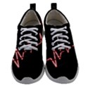 Music Wallpaper Heartbeat Melody Women Athletic Shoes View1
