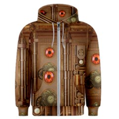 Steampunk Design Men s Zipper Hoodie