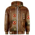 Steampunk Design Men s Zipper Hoodie View1