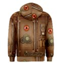 Steampunk Design Men s Zipper Hoodie View2