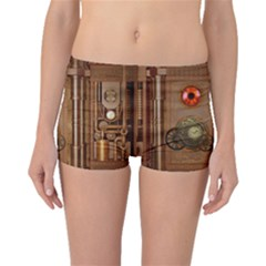 Steampunk Design Boyleg Bikini Bottoms