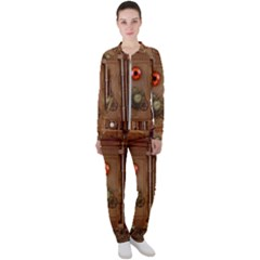 Steampunk Design Casual Jacket And Pants Set