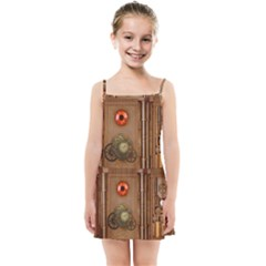 Steampunk Design Kids  Summer Sun Dress