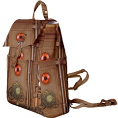 Steampunk Design Buckle Everyday Backpack