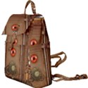 Steampunk Design Buckle Everyday Backpack View1