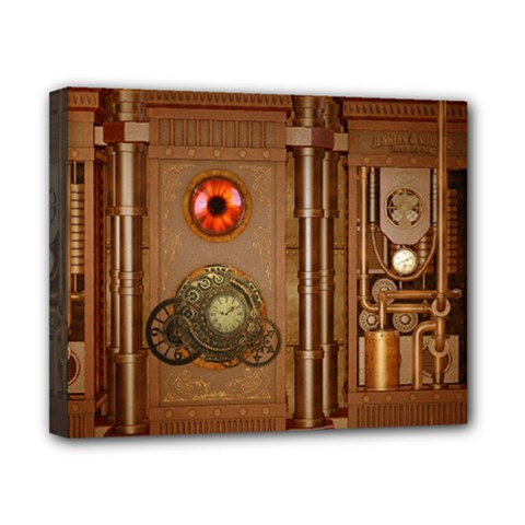 Steampunk Design Canvas 10  X 8  (stretched) by FantasyWorld7