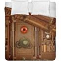 Steampunk Design Duvet Cover Double Side (California King Size) View1