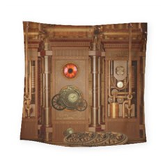 Steampunk Design Square Tapestry (small)