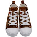 Steampunk Design Kids  Mid-Top Canvas Sneakers View1