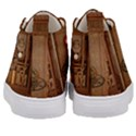 Steampunk Design Kids  Mid-Top Canvas Sneakers View4
