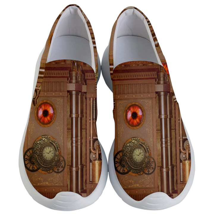 Steampunk Design Women s Lightweight Slip Ons