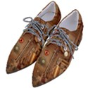 Steampunk Design Women s Pointed Oxford Shoes View2