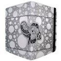 Elegant Mandala Elephant In Black And Wihte Samsung Galaxy Tab 10.1  P7500 Flip Case View4
