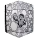 Elegant Mandala Elephant In Black And Wihte Apple iPad Mini 4 Flip Case View3
