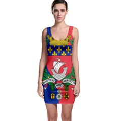 Flag Of Paris  Bodycon Dress by abbeyz71