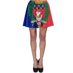 Flag Of Paris  Skater Skirt by abbeyz71