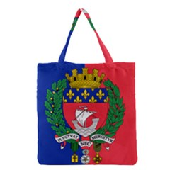 Flag Of Paris  Grocery Tote Bag by abbeyz71