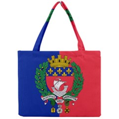 Flag Of Paris  Mini Tote Bag by abbeyz71