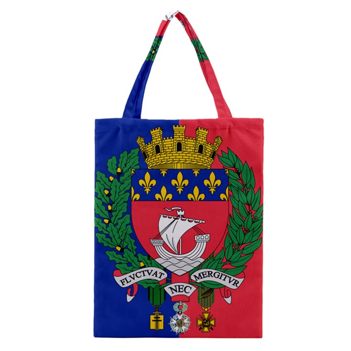 Flag of Paris  Classic Tote Bag