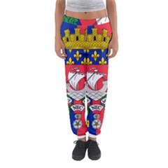 Flag Of Paris  Women s Jogger Sweatpants by abbeyz71