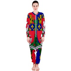 Flag Of Paris  Onepiece Jumpsuit (ladies)  by abbeyz71