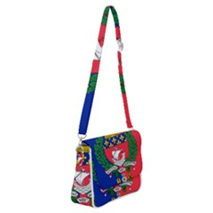 Flag Of Paris  Shoulder Bag With Back Zipper by abbeyz71