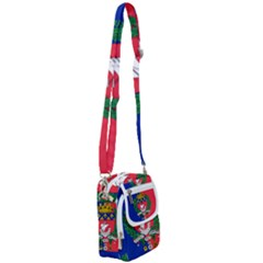 Flag Of Paris  Shoulder Strap Belt Bag by abbeyz71