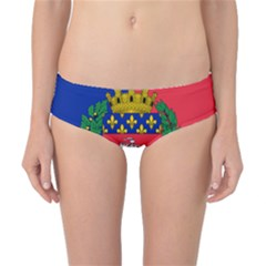 Flag Of Paris  Classic Bikini Bottoms by abbeyz71