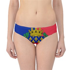Flag Of Paris  Hipster Bikini Bottoms by abbeyz71