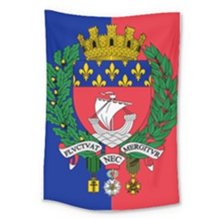 Flag of Paris  Large Tapestry