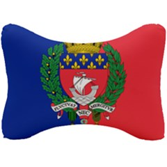Flag Of Paris  Seat Head Rest Cushion