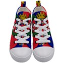 Flag of Paris  Kids  Mid-Top Canvas Sneakers View1