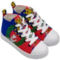 Flag of Paris  Kids  Mid-Top Canvas Sneakers View3