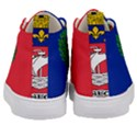 Flag of Paris  Kids  Mid-Top Canvas Sneakers View4