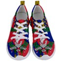 Flag of Paris  Women s Lightweight Sports Shoes View1