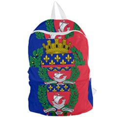 Flag of Paris  Foldable Lightweight Backpack
