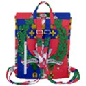 Flag of Paris  Flap Top Backpack View3