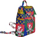 Flag of Paris  Buckle Everyday Backpack View2