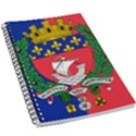Flag of Paris  5.5  x 8.5  Notebook View1