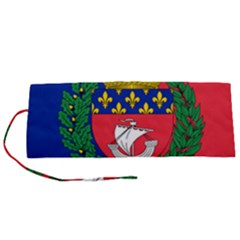 Flag of Paris  Roll Up Canvas Pencil Holder (S)