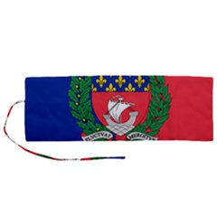 Flag of Paris  Roll Up Canvas Pencil Holder (M)