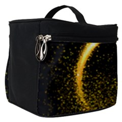 Cosmos Comet Dance, Digital Art Impression Make Up Travel Bag (small)